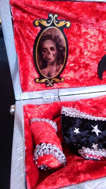 10 Quot Monster High Vampire Girl Doll Wood Coffin Goth