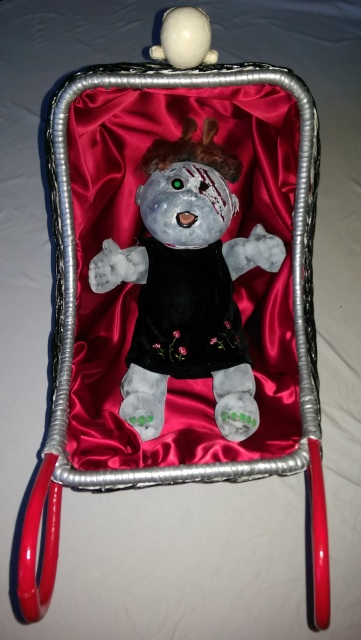 Wicker Doll Stroller Hearse Goth 16 Quot Reborn Zombie Baby